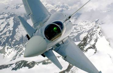 Überschall-Training der Eurofighter
